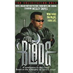 Blade by Mel Odom and New Line Productions