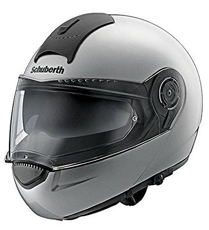 Casque de moto argent base de Schuberth C3