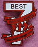 Irish Shopper George Best Magnificent 7 Manchester United Man Utd Enamel Pin Lapel Badge