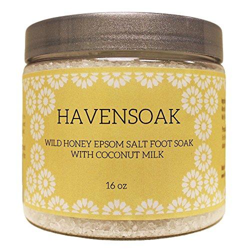 Wild Honey Epsom Salt Foot Soak with Coconut Milk - fitness tracker ...