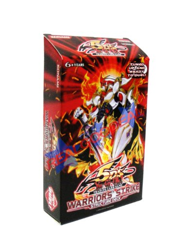 YuGiOh 5D's Warrior's Strike English Structure Deck [Toy]
