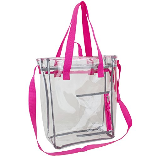 eastsport-large-clear-tote-bag-pink-trim