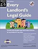 Every Landlord's Legal Guide (Every Landlords Legal Guide, 5th ed) (087337794X) by Stewart, Marcia