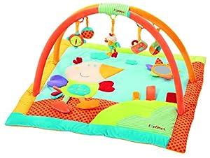babysun nursery tapis d 39 eveil arceaux oiseau multicolore b b s pu riculture. Black Bedroom Furniture Sets. Home Design Ideas