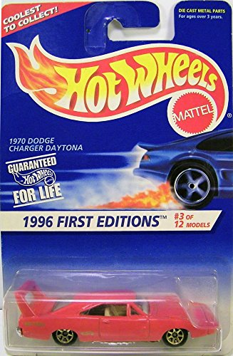 Hotwheels 1970 Dodge Charger Daytona-1996 1st Editions #3 of 12 #382