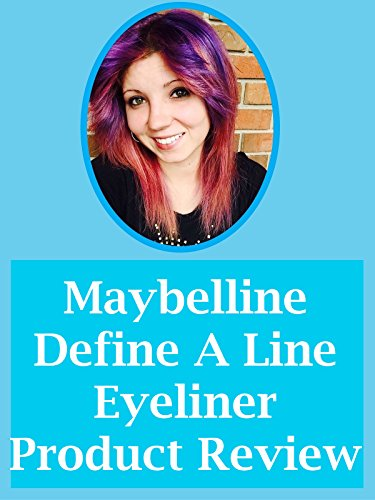 Maybelline Define-A-Line Eyeliner Product Review on Amazon Prime Video UK