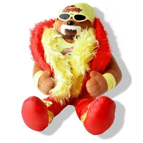WWE Hulk Hogan Plush 16 Inch Teddy Bear
