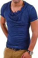 MT Styles - 1293 - T-shirt à encolure large/col châle
