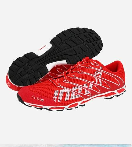 Inov-8 F-Lite 195-Red White-M: US 7 / UK 6 / EU 39.5