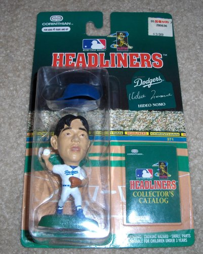 Picture of Corinthian 1996 Hideo Nomo MLB Headliners Figure (B000OR51M6) (Corinthian Action Figures)