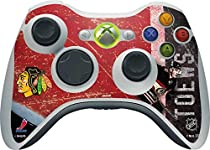 NHL Chicago Blackhawks Xbox 360 Wireless Controller Skin - Jonathan Toews Blackhawks Action Shot Vinyl Decal Skin For Your Xbox 360 Wireless Controller