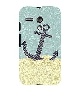 Anker Illustration 3D Hard Polycarbonate Designer Back Case Cover for Motorola Moto G X1032 :: Motorola Moto G (1st Gen)
