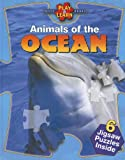 img - for Animals of the Ocean (Play & Learn Puzzle Books) book / textbook / text book