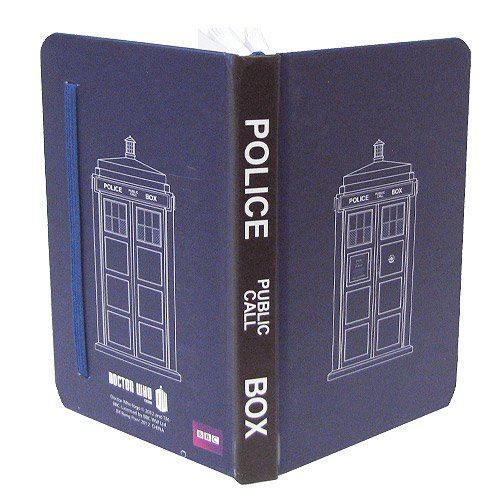 Doctor Who TARDIS Mini Journal