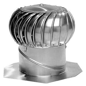 Lomanco Bib 12 Mill Whirlybird Turbine Ventilator Roof