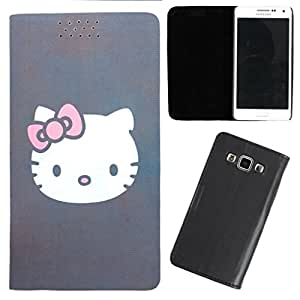DooDa - For Sony Xperia E3 / E3 Dual PU Leather Designer Fashionable Fancy Flip Case Cover Pouch With Smooth Inner Velvet