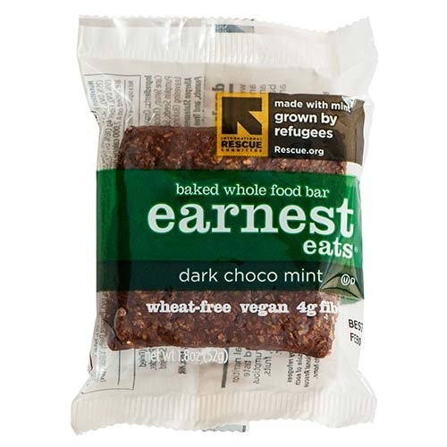 Earnest Eats 100% All-Natural Wheat-Free & Vegan Chewy Baked Energy Bars With Whole Nuts, Fruits, Seeds And Grains - (Case Of 12)