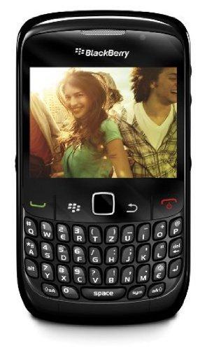 BlackBerry BlackBerry Curve 8520 Smartphone (QWERTZ, Bluetooth, 2MP Kamera, Push-Service) schwarz
