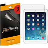 [3-Pack] SUPERSHIELDZ- High Definition Clear Screen Protector For Apple iPad Air 2 & iPad Air + Lifetime Replacements Warranty- Retail Packaging