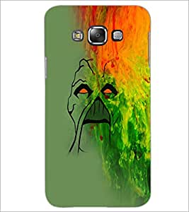 PrintDhaba Painting D-5029 Back Case Cover for SAMSUNG GALAXY E7 (Multi-Coloured)