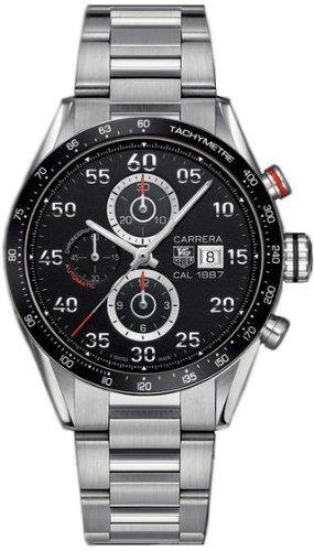 TAG Heuer Men's CAR2A10.BA0799 Analog Display Automatic Self Wind Silver Watch