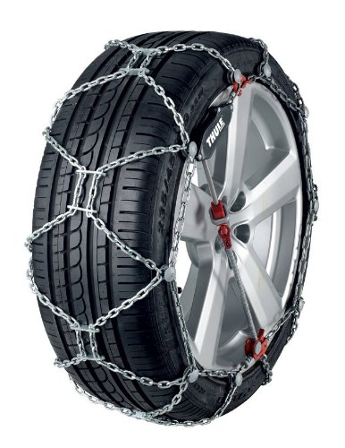 Thule 12mm XG12 Pro Deluxe SUV/Crossover Snow Chain, Size 255 (Sold in pairs)