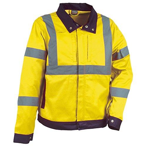 Cofra 40-00V29003-XL - Giacca colorata ad alta visibilità, 245 g/m², modello: Tempel V290, colore: giallo segnaletico