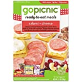 GoPicnic Ready-to-Eat Meals Salami and Cheese, 3.4 Ounce