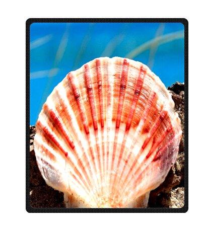 Seashell Throw Blanket front-1039866
