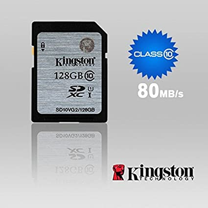 Kingston SD10VG2/128GB 128GB UHS-1 Class10 SDXC Memory Card