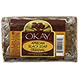 Okay African Soap, Black, 8 Ounce