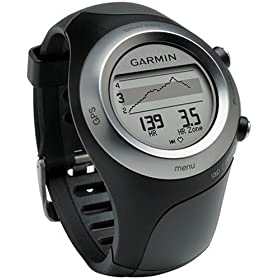 Garmin 010-00658-20 Forerunner 405 GPS-Enabled Sports Watch with Heart Rate Monitor (Black)
