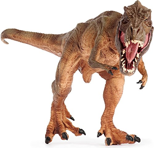 Lifeliko Tyrannosaurus Rex Toy Action Figure - Realistic Design Jurassic Park T-Rex Dinosaur Toy - Ideal Gift for Toddlers or even Grown up Boys - Moving Jaw, Natural Color and Exquisite Details (Tyrannosaurus Rex Model compare prices)