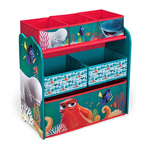 Sale!! Delta Children Multi-Bin Toy Organizer, Disney/Pixar Finding Dory