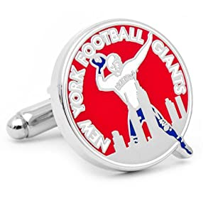 NFL Official New York Giants Vintage Logo Cufflinks - Cuff Links by NFL