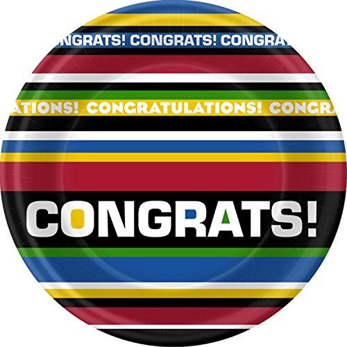 Grad Congrats! Dessert Plates - 1
