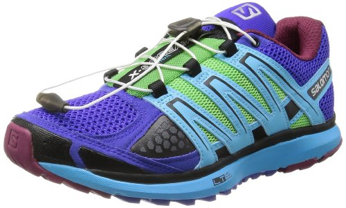 SALOMON Citytrail X-Scream Scarpa da Trail Running Donna, Porpora/Verde, 41 1/3