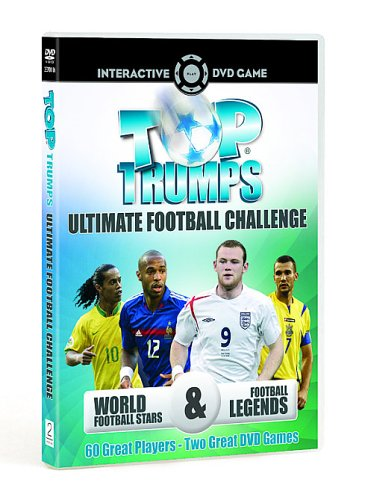 Top Trumps: Ultimate Football Challenge - DVD Interactive Game (Limited Edition With Free 'Football Managers' Top Trumps Card Game)
