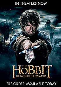 The Hobbit: The Battle of the Five Armies (Blu-ray 3D + Blu-ray + DVD + UltraViolet Combo Pack) by Warner Home Video