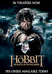 The Hobbit: The Battle of the Five Armies (Blu-ray 3D + Blu-ray + DVD + UltraViolet Combo Pack)