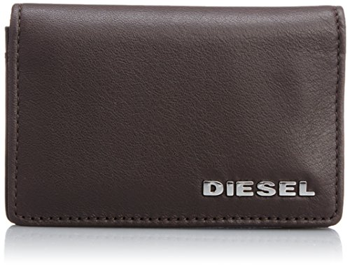 Diesel Uomo Dukez Card Holder Wallet, Marrone, One Size