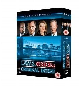 Law & Order: Criminal Intent - Season 1 [6 DVDs] [UK Import]