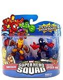 Marvel Super Hero Squad Action Figure 2-Pack - Shocker/Shockproof Spider-Man
