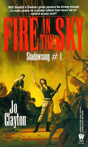 Image for Fire in the Sky (Shadowsong Trilogy, No 1)