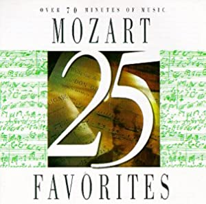 25 Mozart Favorites by Vox (Classical)
