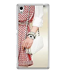 ifasho Designer dress pattern Back Case Cover for Sony Xperia Z3 Plus