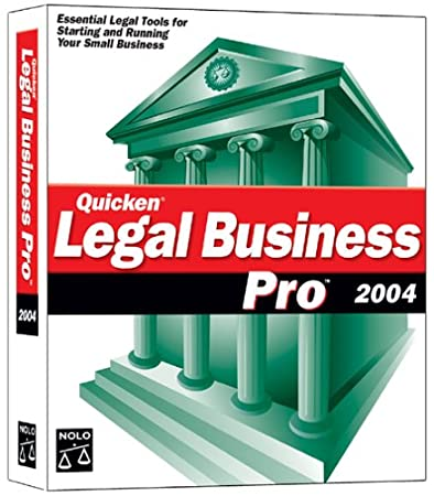 Quicken Legal Business Pro 2004