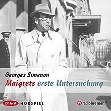 Maigrets erste Untersuchung Hörspiel von Georges Simenon Gesprochen von: Evelyn Hamann, Hanns Lothar, Charles Wirths, Charles Brauer