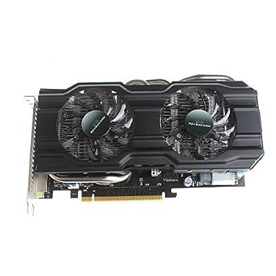 Nvidia GeForce GTX960 Video Card 2GB GDDR5 256Bit 28nm PCI Express X16 3.0 Graphic Card - Black