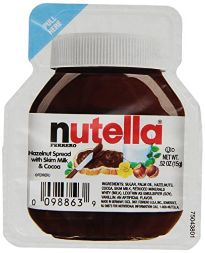 Nutella Single Serve (15g) , 120 Count (Snacks Single Serve compare prices)